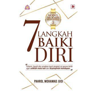 7 LANGKAH PERBAIKI DIRI,Pahrol Mohd Juoi