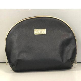 全新黑色化妝袋  拉鍊化妝袋/收納用