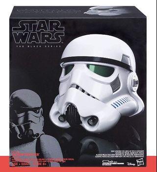 🚚 Star Wars Stormtrooper Black Series Helmet