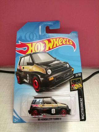 Honda city turbo II hotwheels