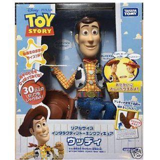 Toy Story Woody Thinkway Toys Takara Tomy