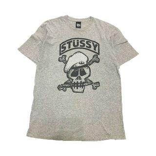 Stussy Skull Cap Tee 古著 滑板 嘻哈 街頭