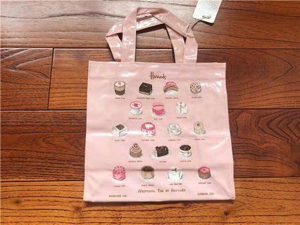 Harrods 蛋糕手拎包手提袋收納袋防水袋便當袋飯盒袋