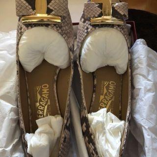 Ferragamo python shoes