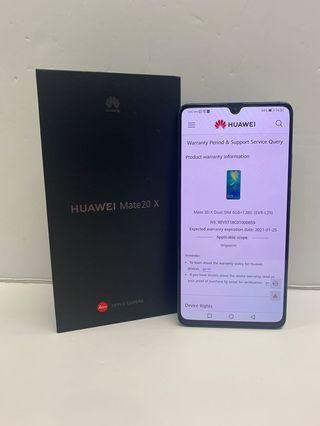 Used Huawei Mate 20 X 128gb (Mint Condition)