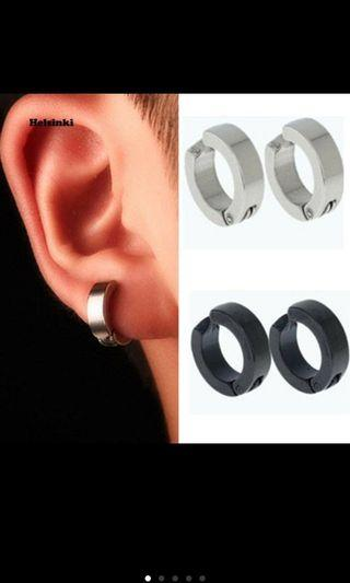Clip on hoop earring