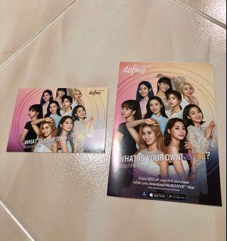 🚚 Twice Acuvue Postcard