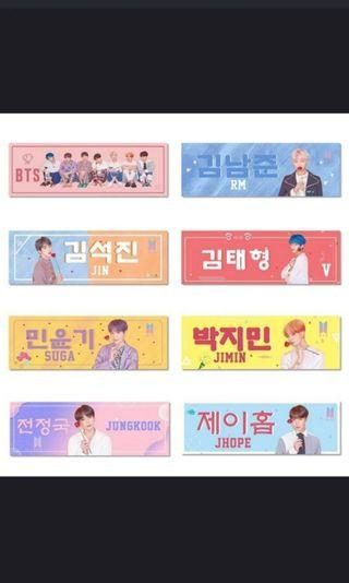 Bts posters / banners