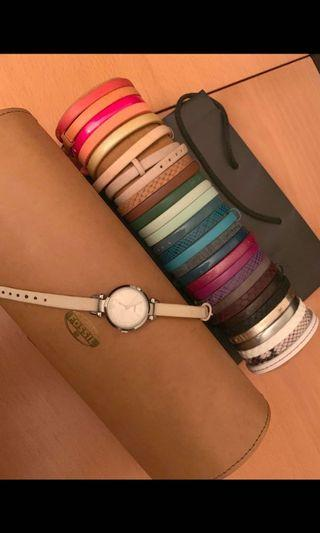 🚚 Fossil Georgia watch interchangeable straps limited edition