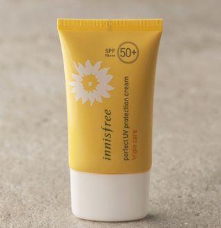 🚚 innisfree triple care perfect UV protection cream SPF50+PA+++ 50ml