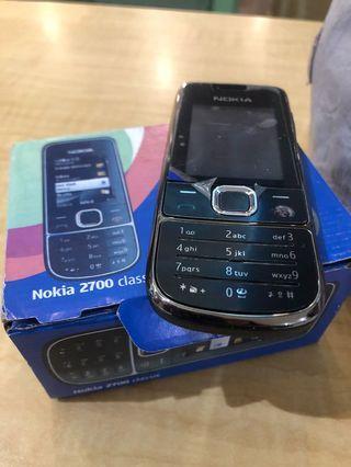 auth nokia 2700 classic phone