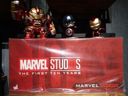 Hot Toys Marvel Studios: The First 10 Years Marvel Light Box MISB