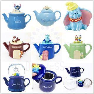 【現貨】🇯🇵日本直送🇯🇵 🔝 迪士尼 立體造型陶瓷茶壺 🔝#19FEB013