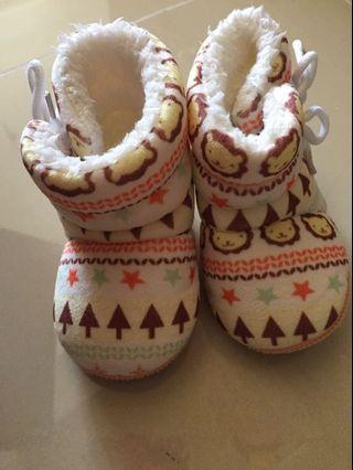 寶寶學步馬靴 2號 內長約11.5公分