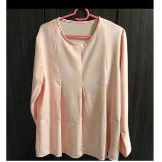 PRE WEDDING SALE- FRONT PLEATED BLOUSE