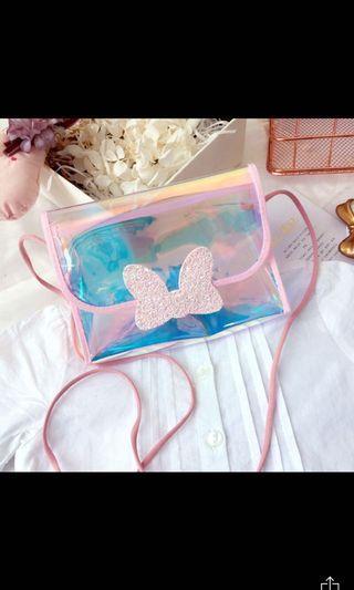 Girls Holographic Crossbody Bag - 2 designs
