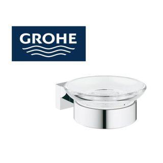 GROHE Essential Cube Soap Dish with Holder