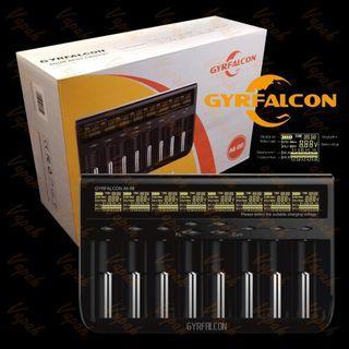 all purpose Battery Charger GyrFalcon All-88 (Enova)  8 slot, for nimh, li-ion, li-po, nicd, lithium, AA,AAA,9v