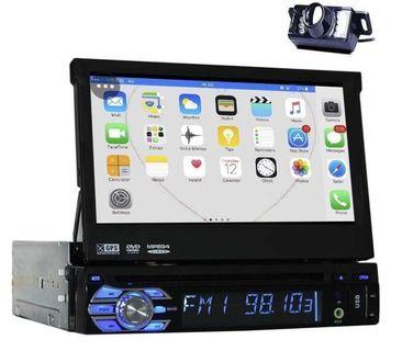 "(E2802)7"" Touch panel double din dvd with back camera"