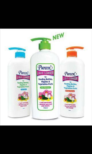 🚚 Pureen liquid cleanser