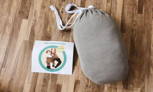 Egmao baby wrap - light grey