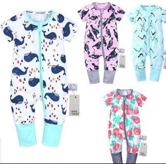 BaBy boys girls short sleeves jumpsuit 3m to 3Y