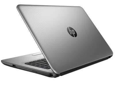 """HP 14-AC603TU - Intel N3700 - RAM 2GB - Windows 10 - 14"""" - Silver"""