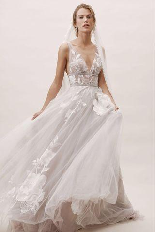 BHLDN/ Watters Galatea Gown for Rental
