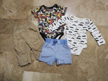 Take all branded baby clothes