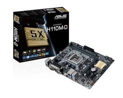 Asus H110M-D LGA1151  DDR4 Mainboard