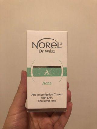 Norel Anti-Imperfection Cream with LHA and Silver lons 抗菌淨肌控油面霜 15ml