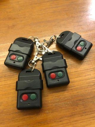 RF Gate Remote (set of 4) buy all get 1 free