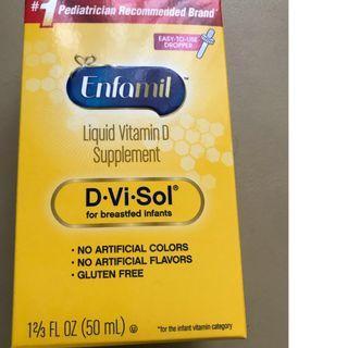 全新安嬰兒 Enfamil D-Vi-Sol 維生素D補充劑 50ml #MTRtw