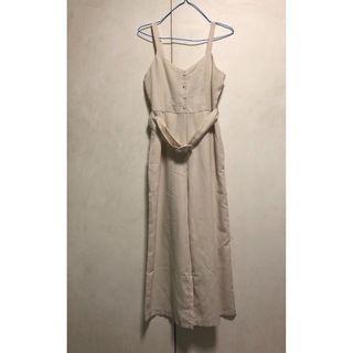 BNWT Temt miss valley girl vg buckle button down self tie culotte jumpsuit