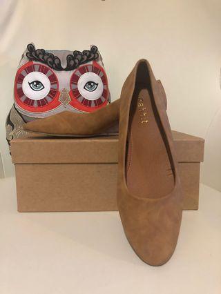 女裝船跟鞋 Lady shoes