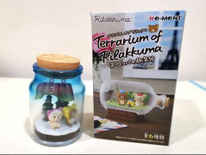 Terrarium of Rilakkuma Re-Ment Miniature Toy