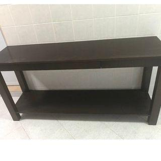 Excellent condition teak solid wood large buffet table