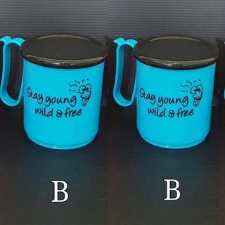 Tupperware Jumbo mug with prints