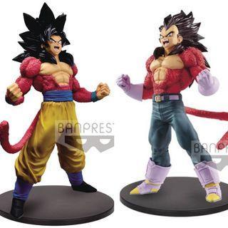 Dragon Ball GT – Blood of Saiyans Goku & Vegeta SSJ4