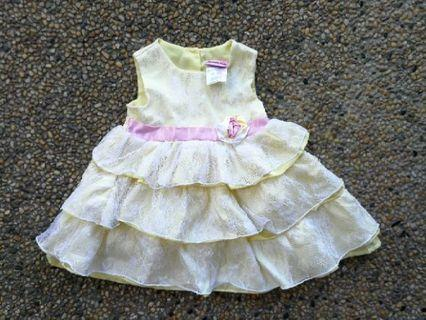 Nannette baby dress