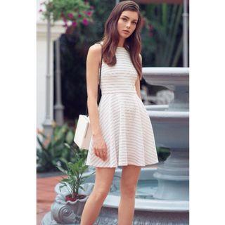 The Closet Lover Jill Stripes Dress (M)