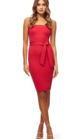 Kookai Oakley Dress Red Size 2