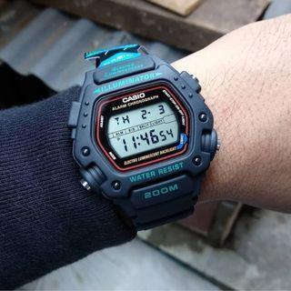 Casio 經典錶款 classic sport digital watch gshock (200m waterresistance)
