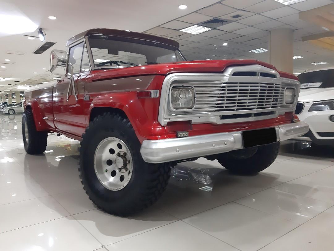 1982 Jeep GLADIATOR 4.2 Bensin 4x4 MANUAL.ANTIK-Unit Jarang AD.Nopol D-BANDUNG