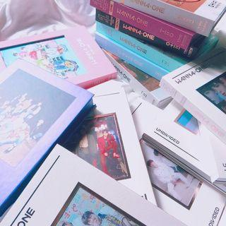 WANNA ONE SEALED ALBUMS