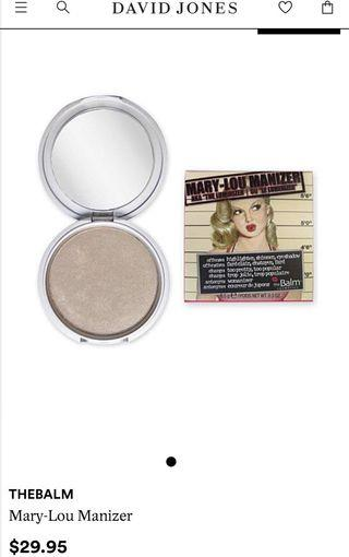 The Balm - Mary-Lou Manizer Highlighter