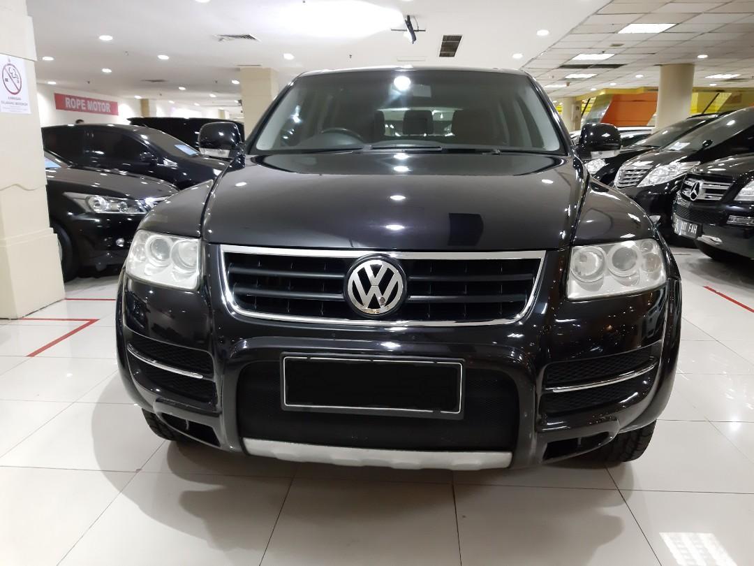 2004 Volkswagen Vw TOUAREG 3.2L V6 Automatic.Spek SUNROOF,Elektrik SEAT.Nopol B-DKI