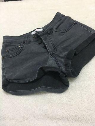 Black Buttoned Shorts #SwapAU