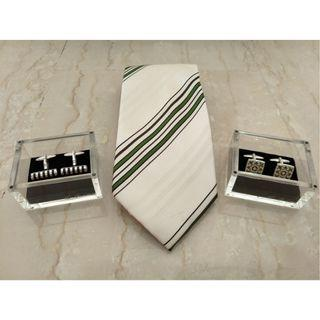 Tie & Cuff Links By Van Garie