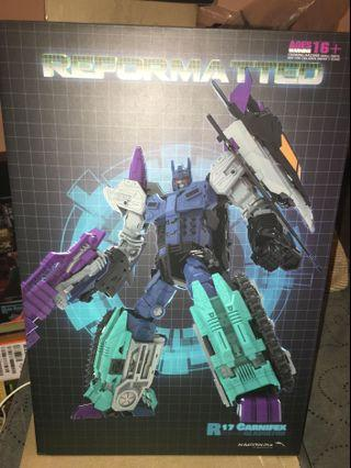 Transformers Mastermind Creations MMC Carnifex and Continuum Addon kit